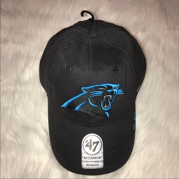 NEW Womens Carolina Panthers NFL Logo Ball Cap 437e4bcaa